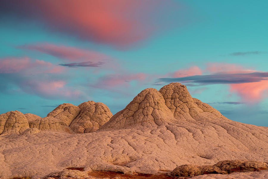 Arizona Photograph - Stunning Clouds At Sunrise, Vermillion by Howie Garber