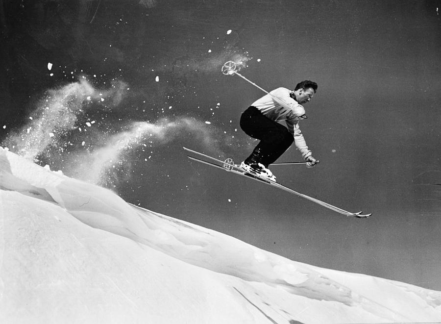 Sun Valley Skier Photograph by Keystone