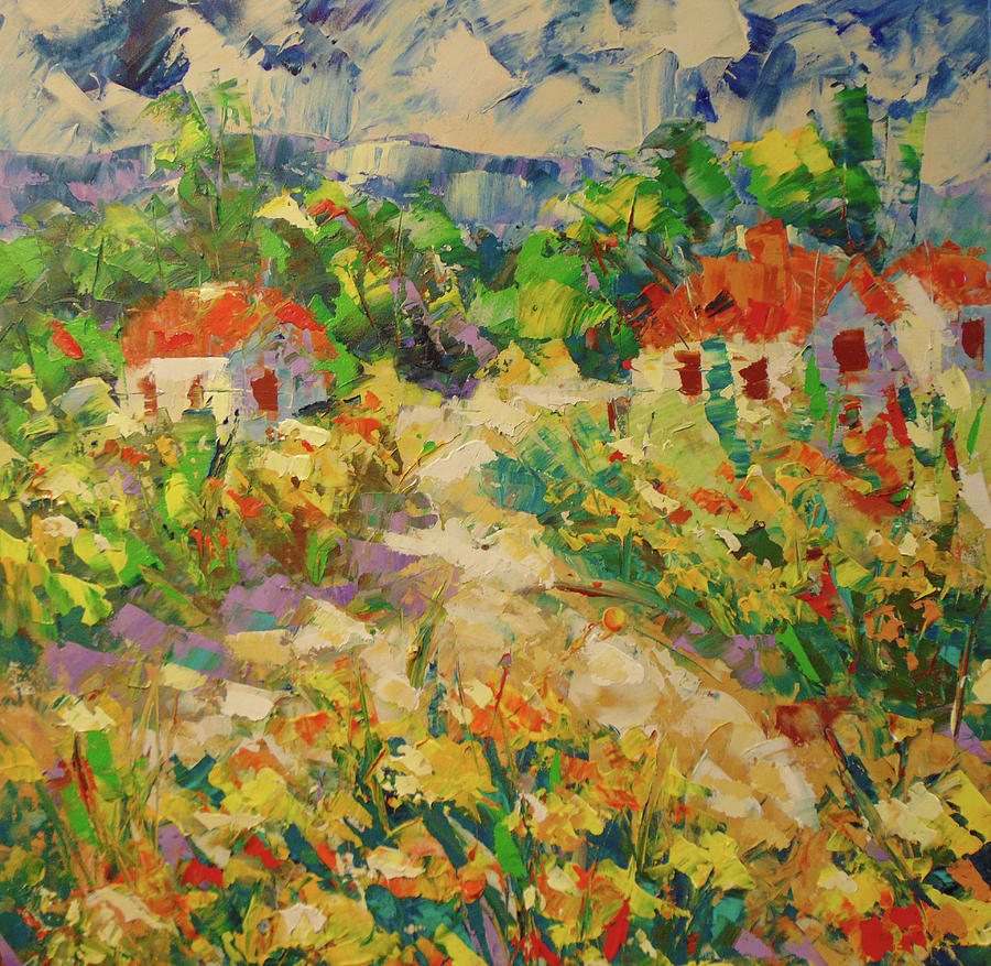 Sunflowers Provence by Frederic Payet
