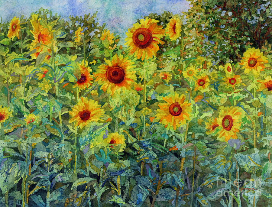 Sunny Meadow Painting