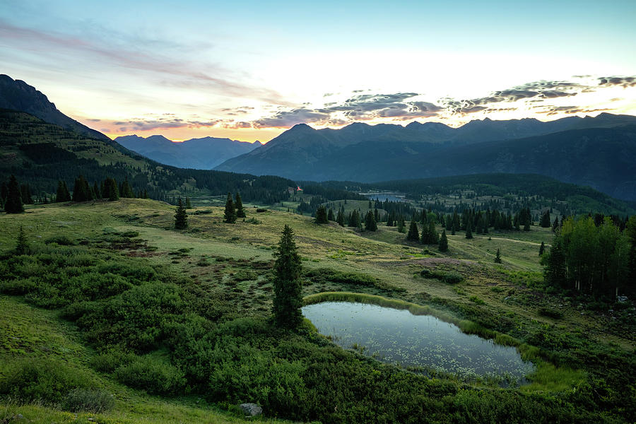 Sunrise Over Molas Pass by Mati Krimerman