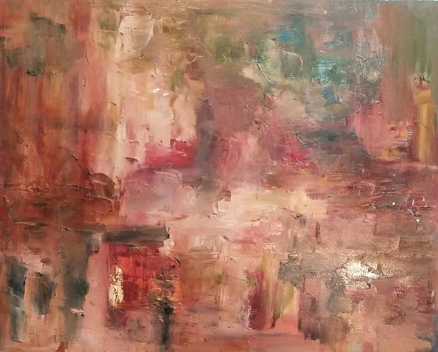 Sunset2 Painting by Beverly Smith