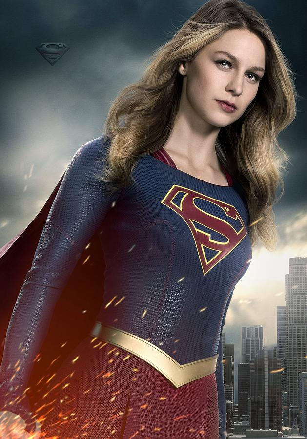 Supergirl Digital Art - Supergirl by Geek N Rock