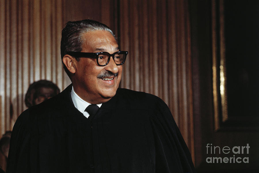 Supreme Court Justice Thurgood Marshall Photograph by Bettmann