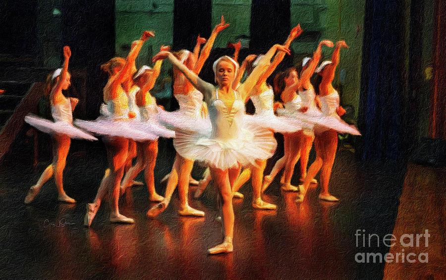 Swan Lake Ballerina by Craig J Satterlee