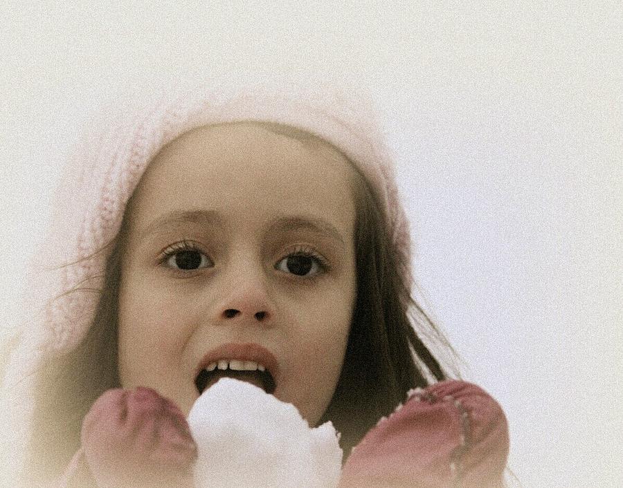 Sweet Angel Face... by The Art Of Marilyn Ridoutt-Greene