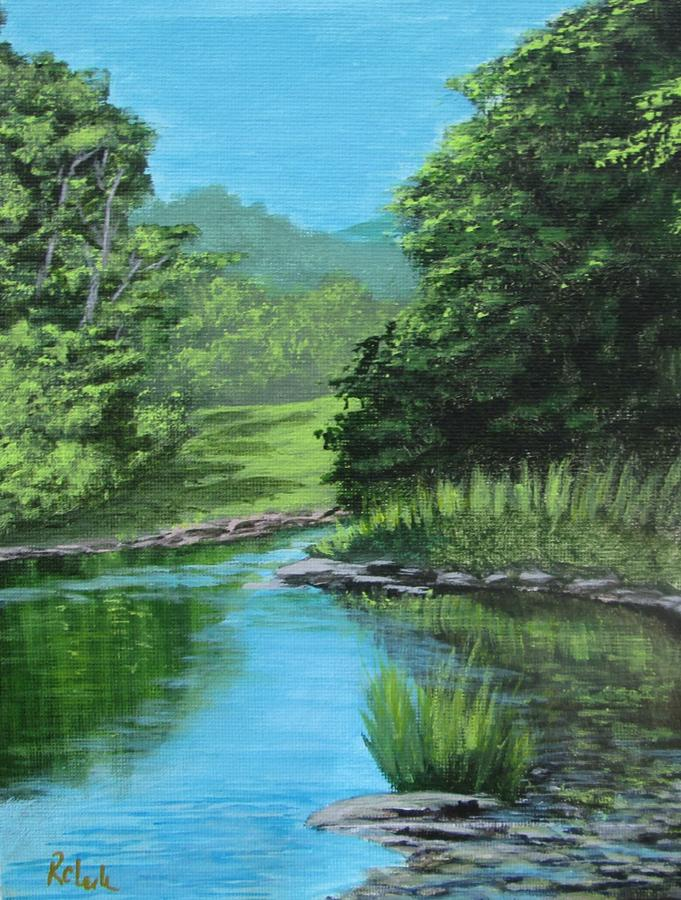 Sweet Country Creek by Robert Clark