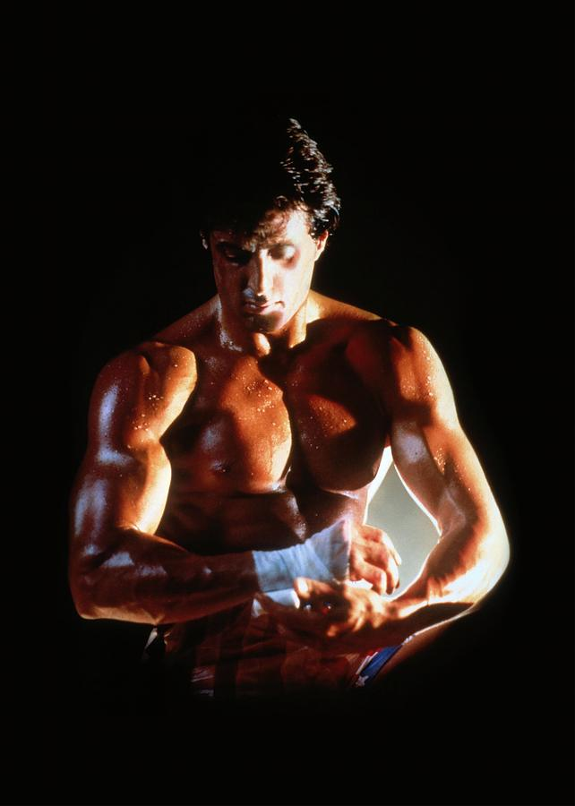 Sylvester Stallone In Rocky Iv -1985-. Photograph by Album