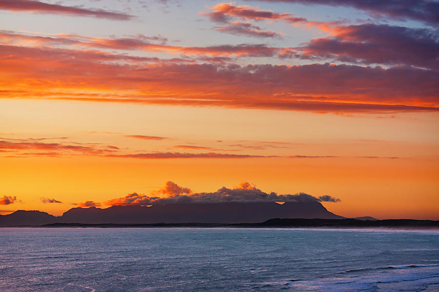 Table Mountain At Sunset Photograph By Jesus Villalba