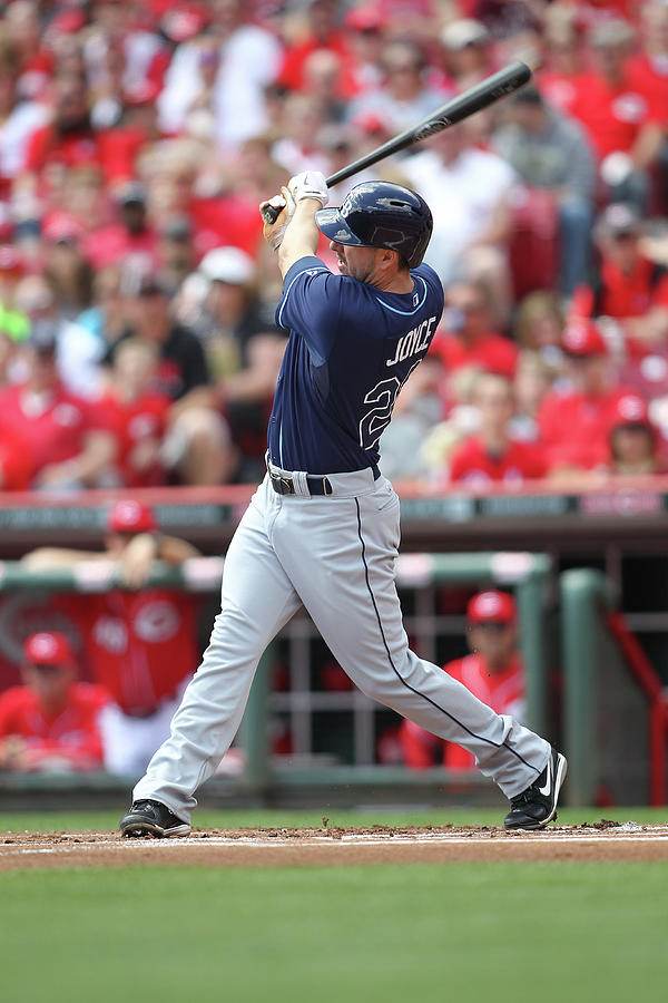 Tampa Bay Ray V. Cincinnati Reds Photograph by John Grieshop