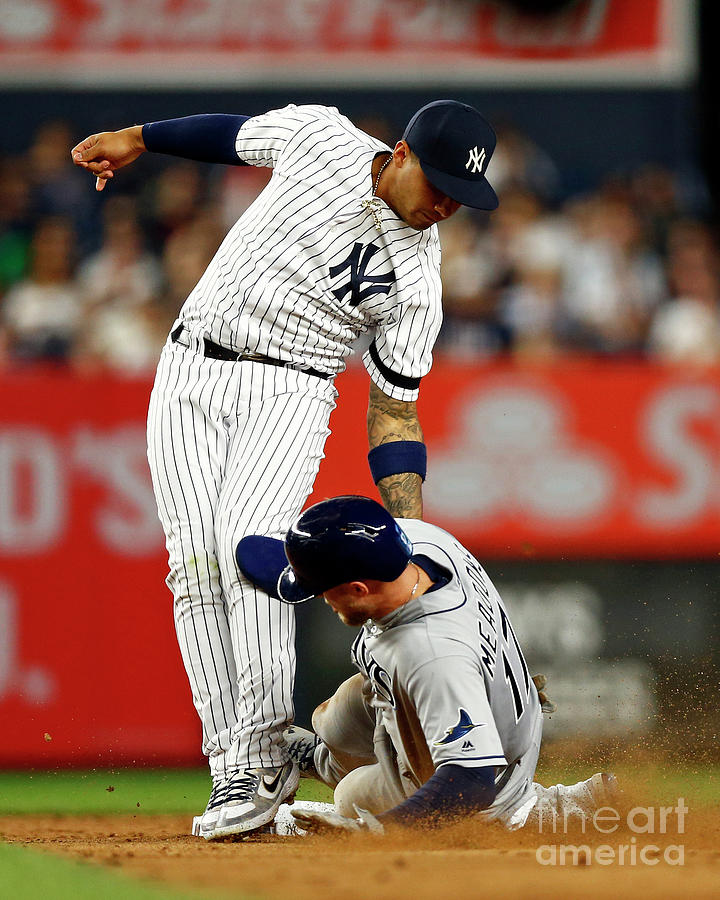 Tampa Bay Rays V New York Yankees 1 Photograph by Adam Hunger