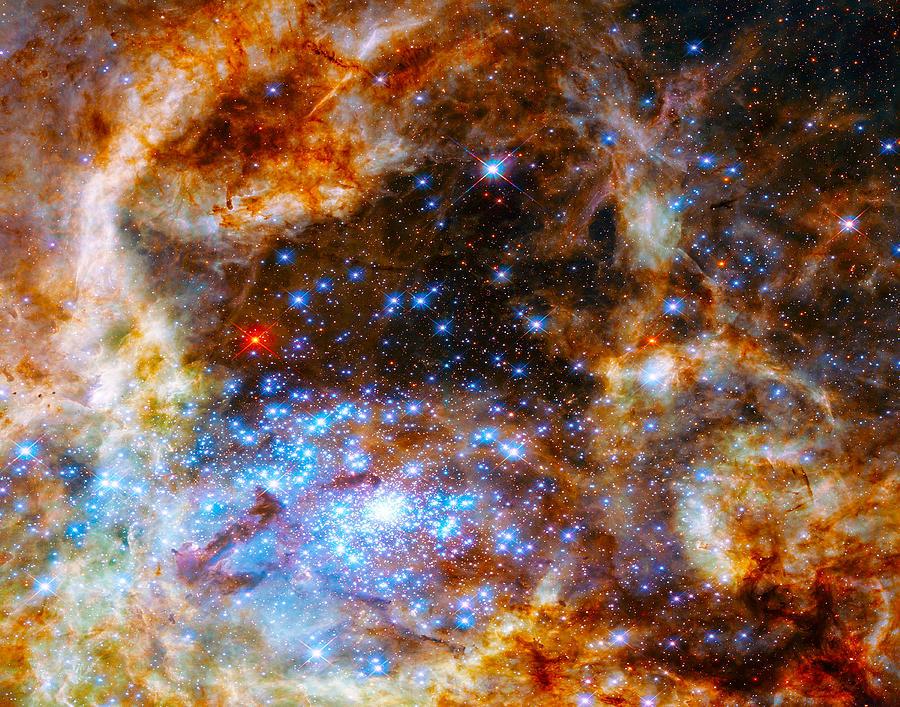 Tarantula Nebula by Dave Byrne
