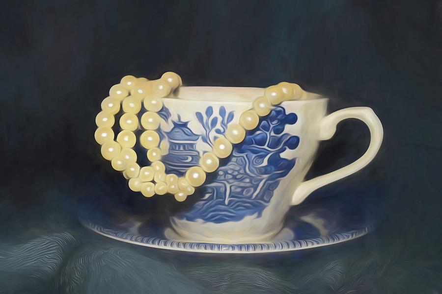 Tea Time by Pamela Walton