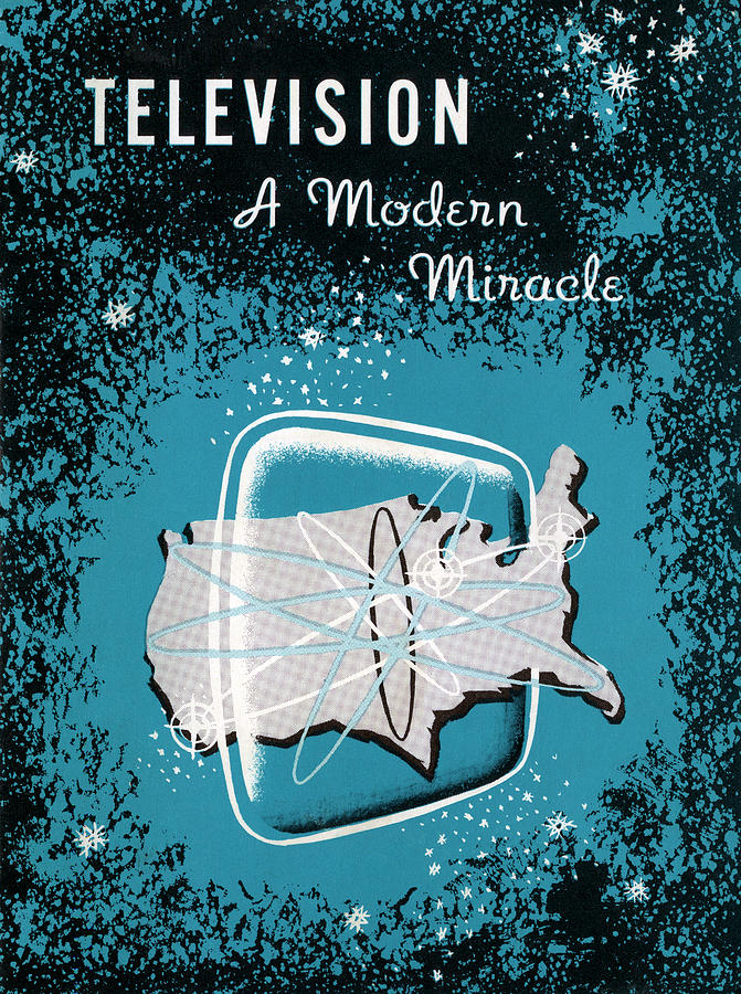 Television, A Modern Miracle Photograph by Graphicaartis