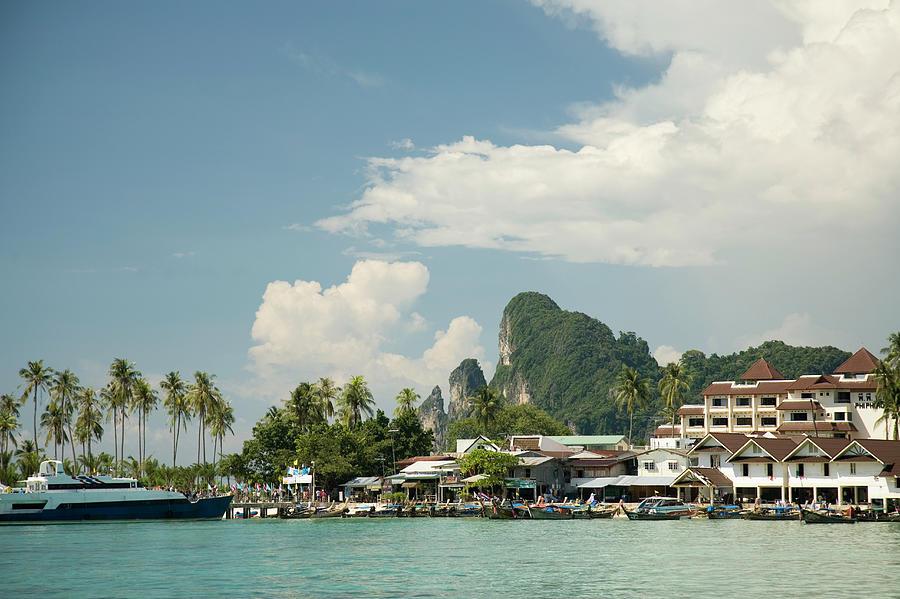 Thailand, Krabi Province, Phi Phi Photograph by Rene Frederick