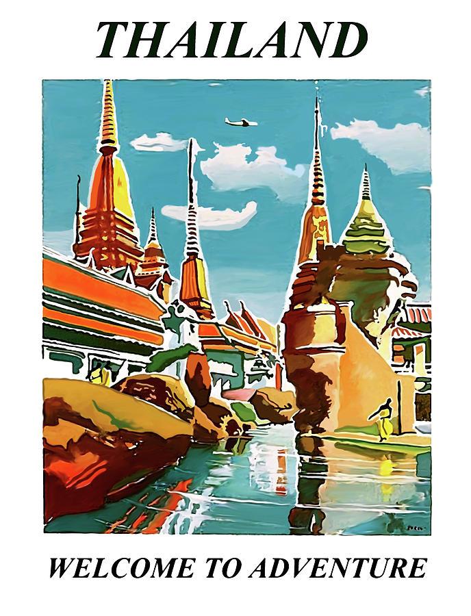 Thailand Digital Art - Thailand by Long Shot