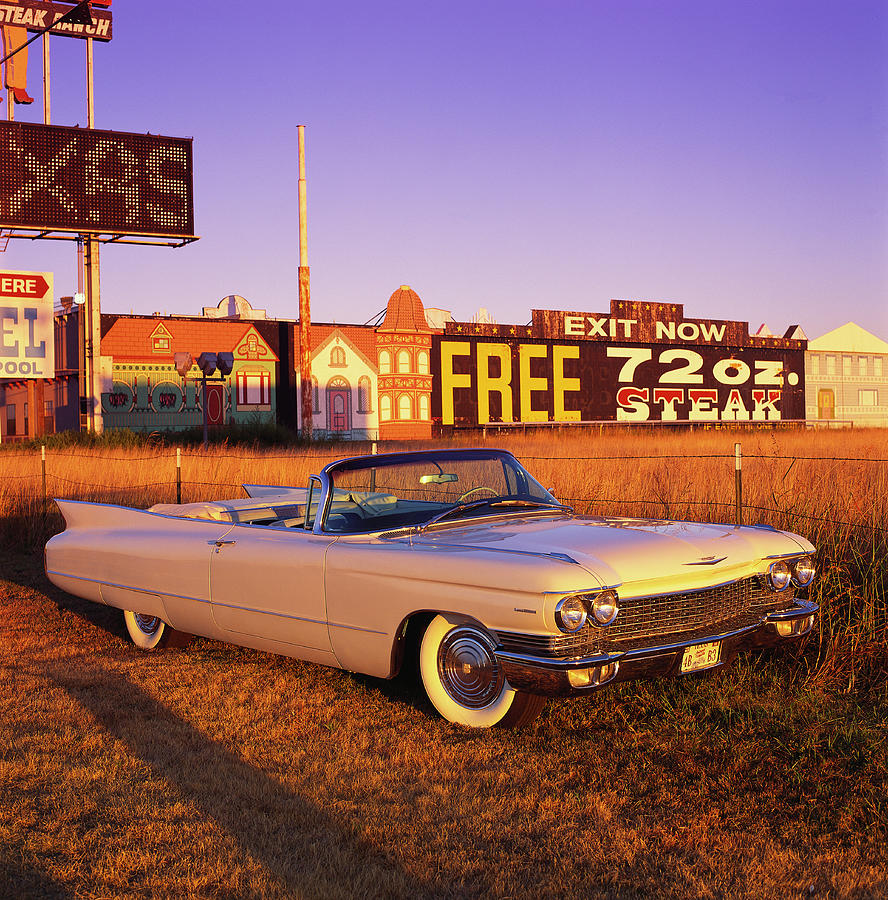 The 1960 Cadillac Series 62 Convertable Photograph by Car Culture