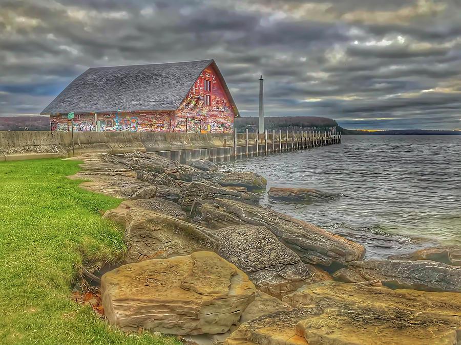 The Anderson Barn by Patti Raine