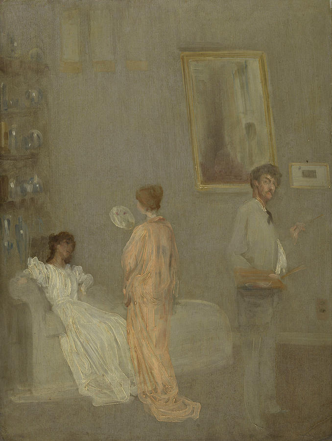 The Artist in His Studio by James Abbott McNeill Whistler