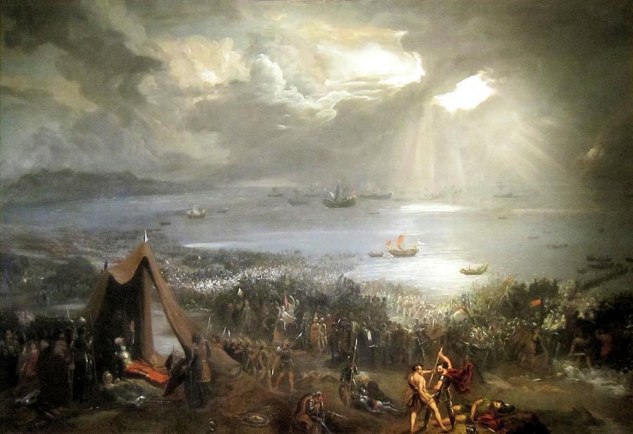 The Battle of Clontarf by Hugh Frazer