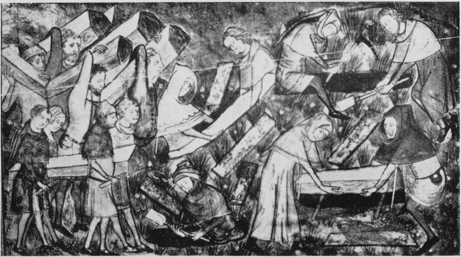 The Black Death Photograph by Hulton Archive