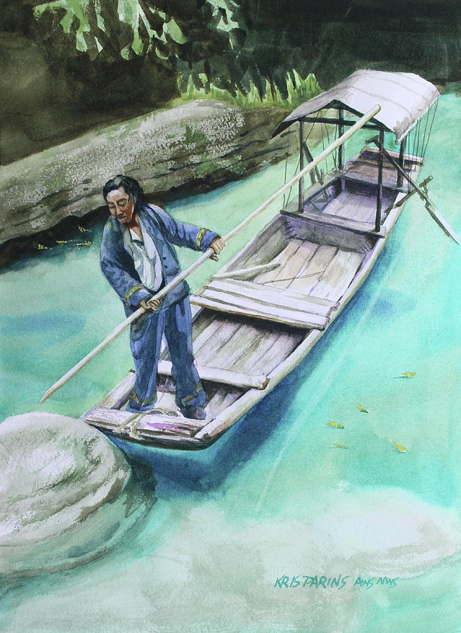 The Boatman by Kris Parins