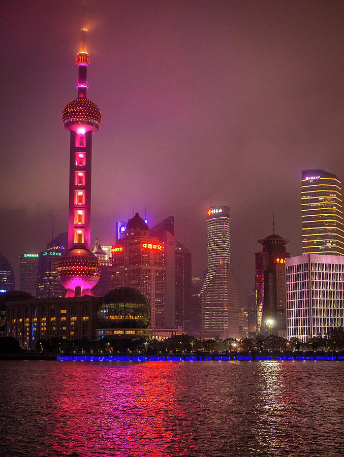 The Bund Shanghai China by Gary Gillette