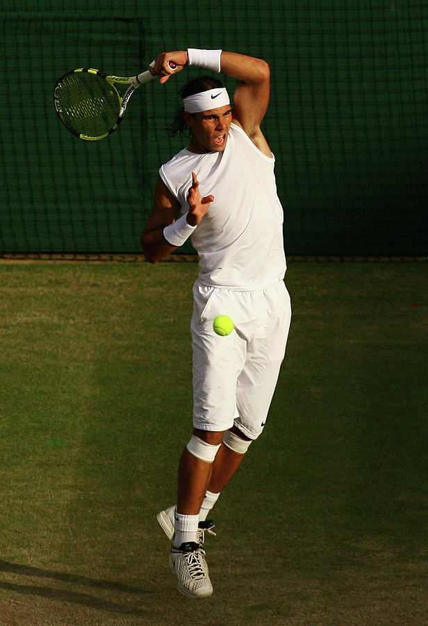 The Championships - Wimbledon 2008 Day Photograph by Ian Walton