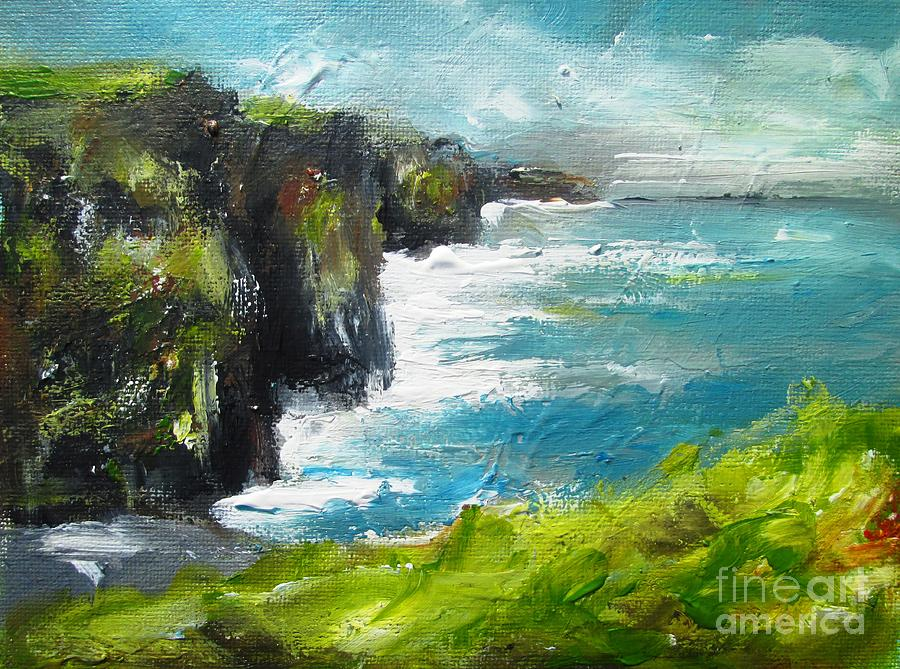 the cliffs of moher county clare ireland by Mary Cahalan Lee- aka PIXI