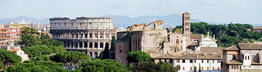 The Colosseum In Rome Italy Photograph by Deejpilot