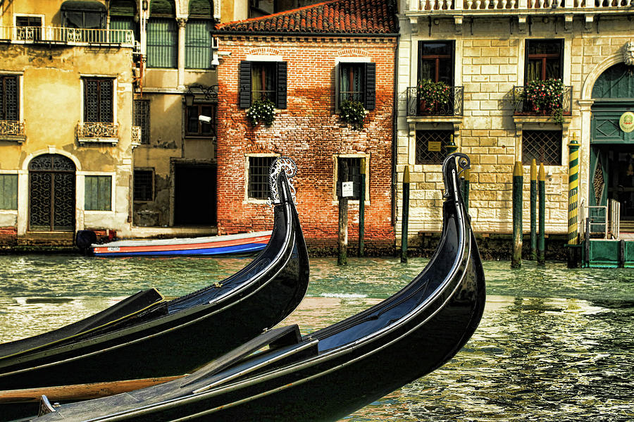The Dancing Gondolas by Mary Buck