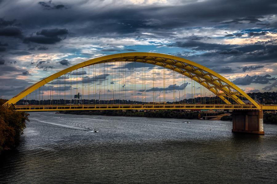 The Daniel Carter Beard Bridge - Cincinnati Photograph by ...