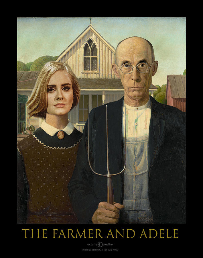 The Farmer and Adele by Tim Nyberg