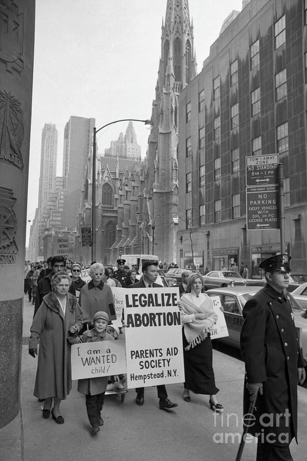 The Fight For Womens Reproductive Rights Photograph by Bettmann