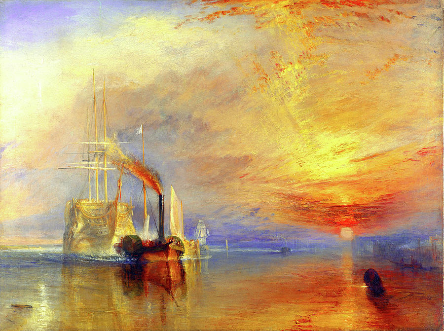 The Fighting Temeraire Painting