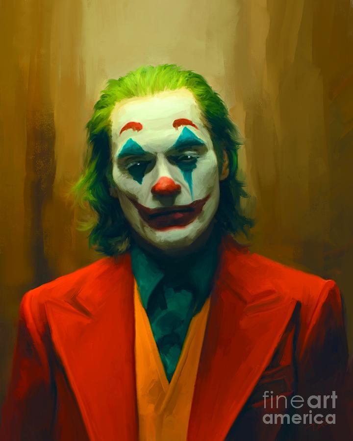 Joker Painting - The Joker by Paul Tagliamonte