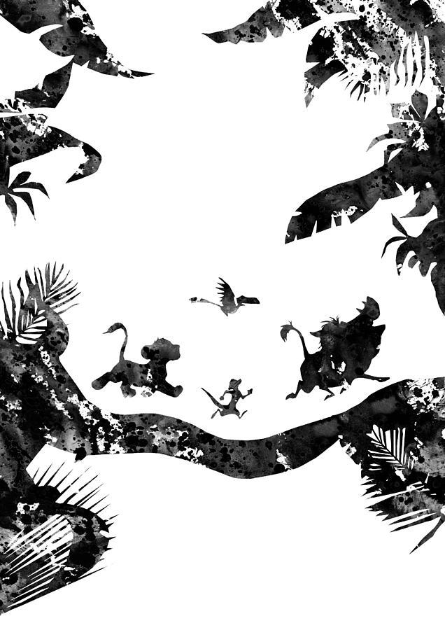 The Lion King Digital Art By Erzebet S