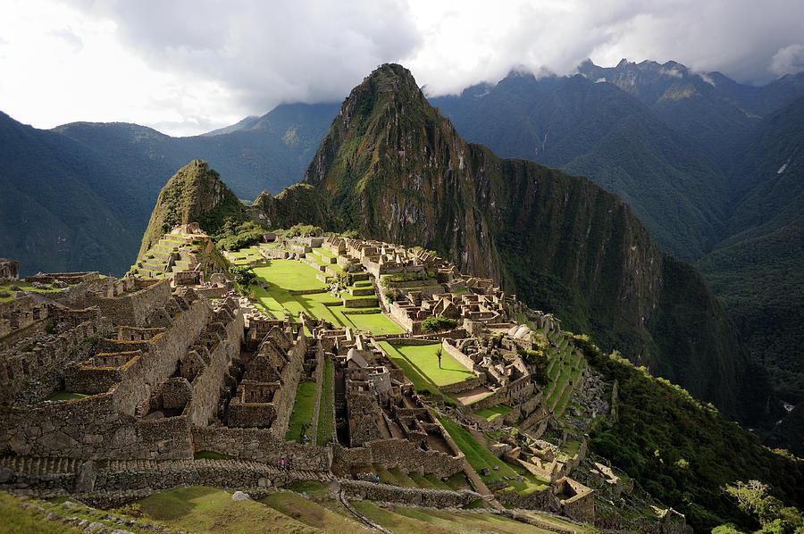 The Lost Inca City Of Machu Picchu Photograph by Elmvilla