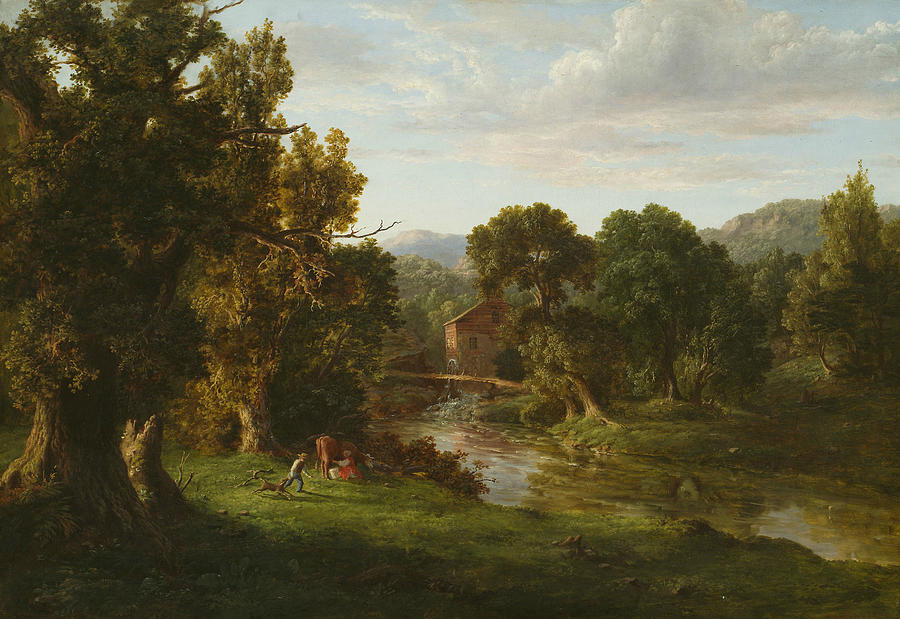 George Inness Painting - The Old Mill 1 by George Inness