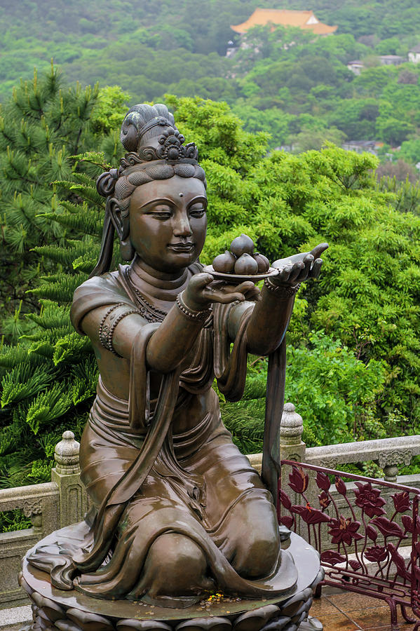 Buddhism Photograph - The Pagoda At The Chi Lin Nunnery by Michael Defreitas