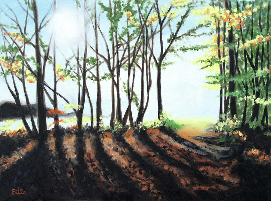 Oil Painting Painting - The Path I Take by Billie Mann