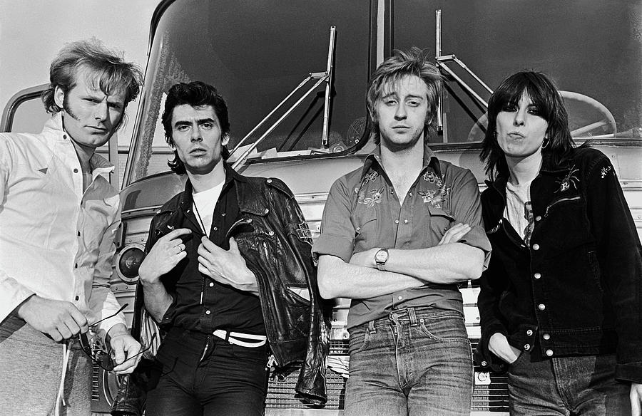 The Pretenders Photograph by George Rose