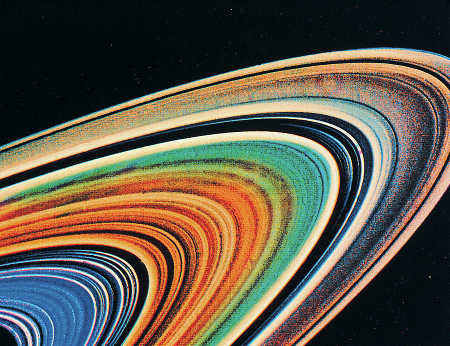 The Rings Of Saturn Photograph by Digital Vision.