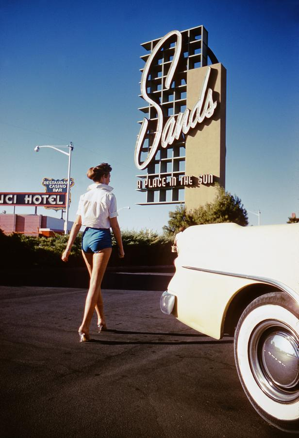 The Sands Hotel Photograph by Hy Peskin Archive