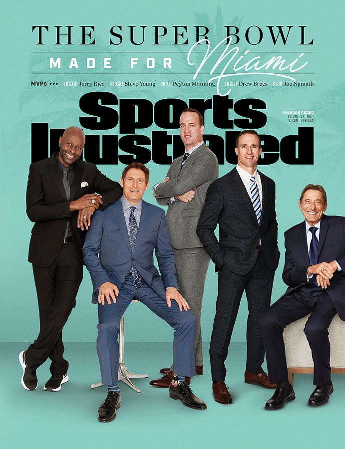 The Super Bowl Made For Miami Sports Illustrated Cover Photograph by Sports Illustrated