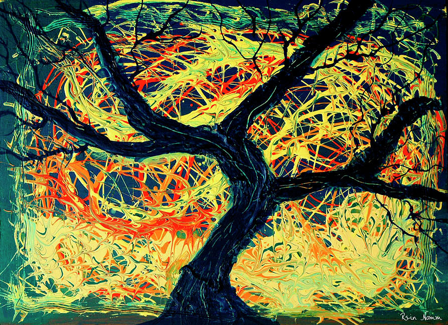 The Tree Stripped Bare by Chaos by Rein Nomm