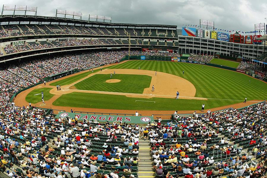 Tigers V Rangers Photograph by Ronald Martinez