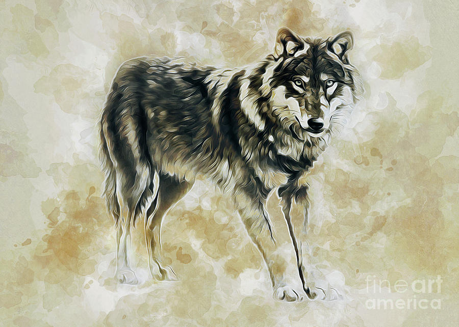 Timber Wolf by Ian Mitchell