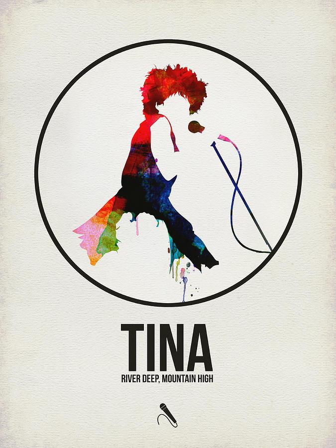 Tina Turner Digital Art - Tina Turner 1 by Naxart Studio