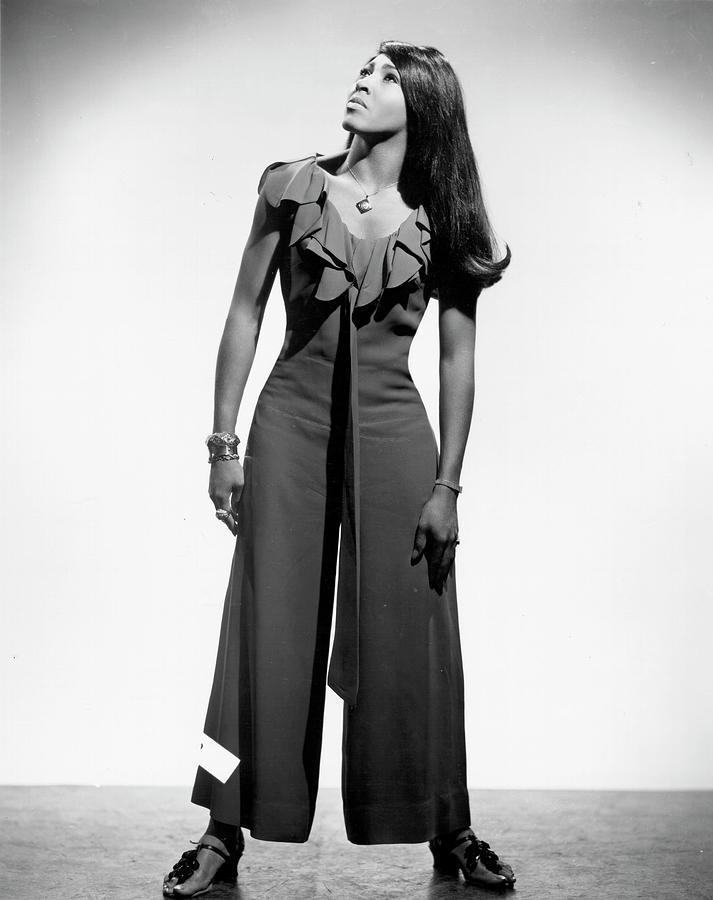 Tina Turner Portrait Photograph by Michael Ochs Archives